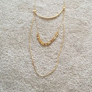 Madewell 3 tier necklace